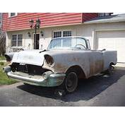 Buy Used 1957 CHEVY BEL AIR CONVERTIBLE PROJECT CAR NO