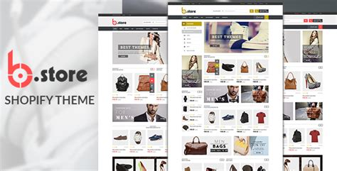shopify retail themes bstore responsive ecommerce shopify theme by hastech