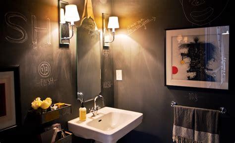 chalkboard paint bathroom chalkboard bathroom walls contemporary bathroom