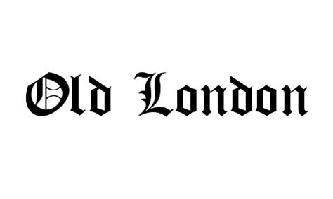 font design london high quality free stylish gothic fonts for designers cssdive