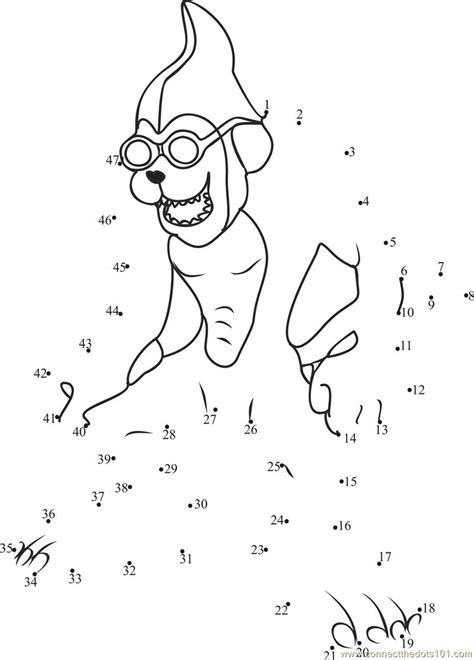 printable dot to dot monkey etemon digimon monkey dot to dot printable worksheet