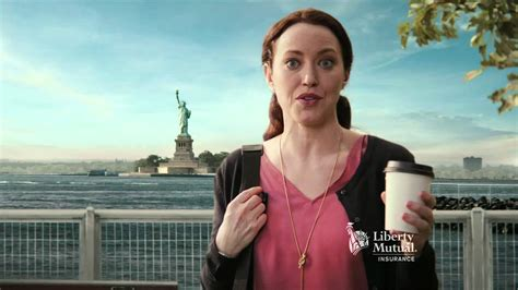who is lady in liberty mutual commercial the official quot this stupid ass commercial quot thread