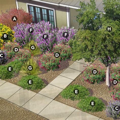 shrub garden design ideas low care shrub garden 4 regional plans