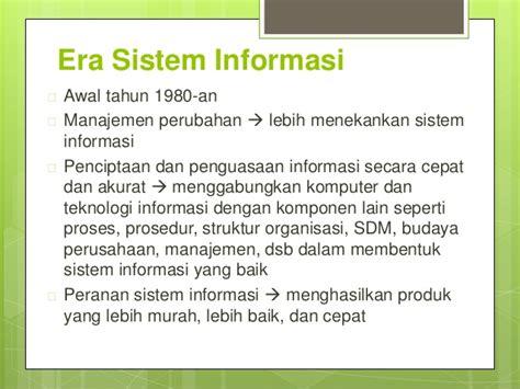 Sistem Informasi Konsep Teknologi Manajemen Soendoro Limi konsep teknologi informasi
