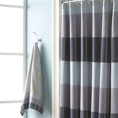 slate shower curtain fairfax slate shower curtain