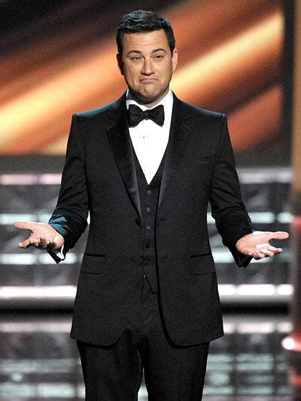 hairy jimmy kimmel emmy awards 2012 best celeb quotes people com