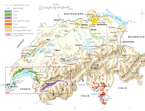 physical map of switzerland detailed physical map of switzerland switzerland detailed