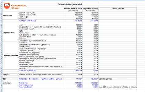 Calendrier Budget Personnel Feuille De Calcul Tableau De Budget Familial Excel