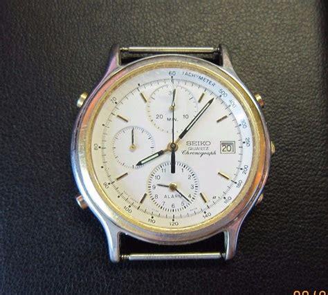 Seiko Vintage vintage seiko 7t32 6a50 chronograph mens wristwatch ebay