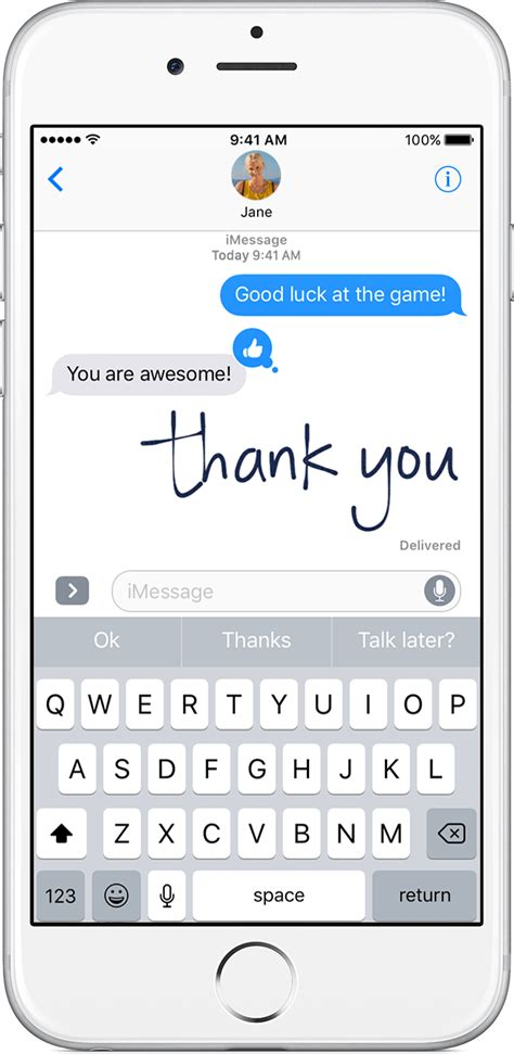 use message effects with imessage on your iphone