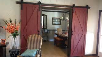 how to install barn doors diy sliding barn door