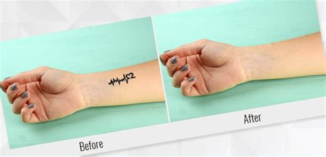 how to remove tattoo stencil how to remove a in photoshop