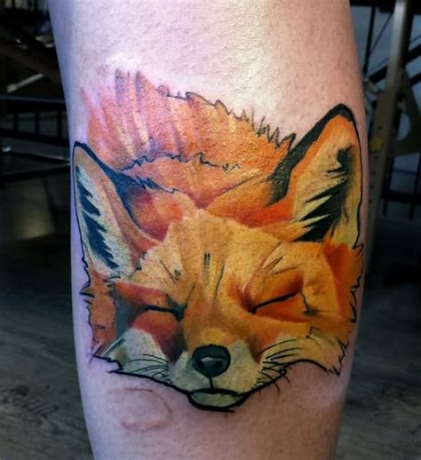 watercolor fox tattoo 21 impressive fox designs pictures and images ideas
