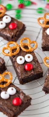 easy rudolph brownies your cup of cake