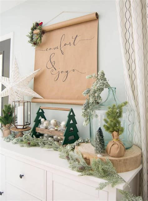 lovely rustic christmas decor ideas  beautify