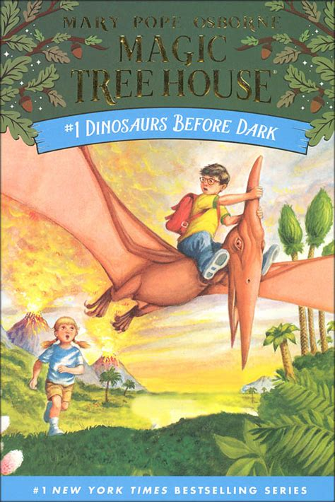Magic Tree House At by Ahschoollibrary Dinosaurs Before