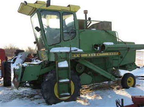 Used Farm Tractors For Sale John Deere 4400 Combine 2009