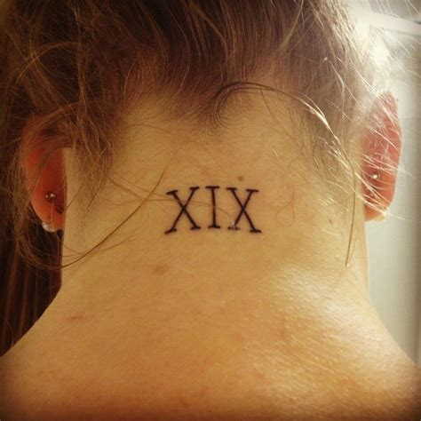 roman numbers tattoo numeral tattoos designs ideas and meaning tattoos
