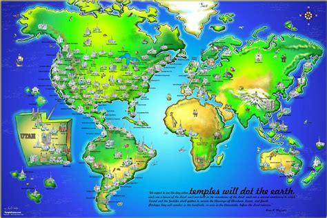lds maps lds temple poster in posters ldsbookstore ldp