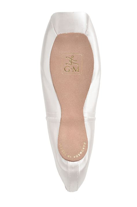 White Satin Shoes by White Satin Gaynor Minden