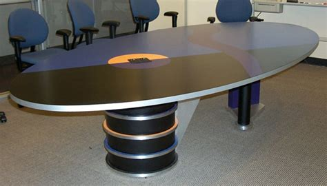 Modern Conference Table Design Mahogany Racetrack Conference Room Table San Francisco