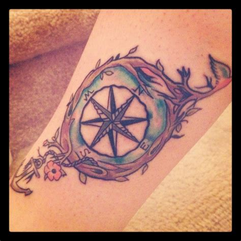 tattoo image compass rose compass rose tattoo on my leg ankle inked pinterest
