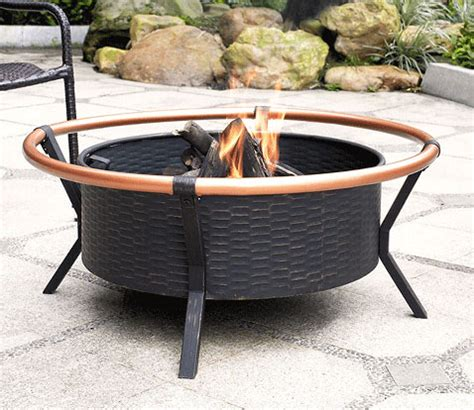 Copper Ring Outdoor Fire Pit Firepit Ring