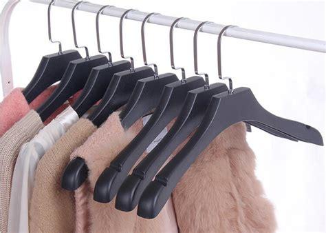 Gantungan Baju Hanger Hitam Oval 12 Pcs buy grosir datar pakaian gantungan from china datar