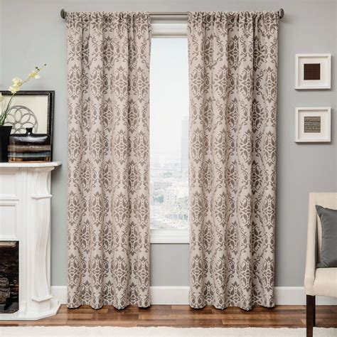 damask drapery panels softline home fashions drapery athens damask panel