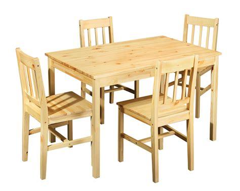 tavolo con sedie per cucina tavolo con sedie bea mobile per cucina in legno naturale