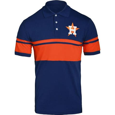 sports fan island coupon houston astros mlb 2017 mens cotton stripe polo shirt