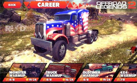 offroad legends 2 mod cars unlocked offroad legends 2 1 2 9 apk mod data for android
