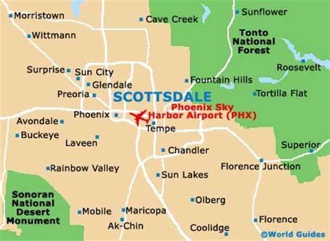 us map scottsdale arizona scottsdale maps and orientation scottsdale arizona az usa