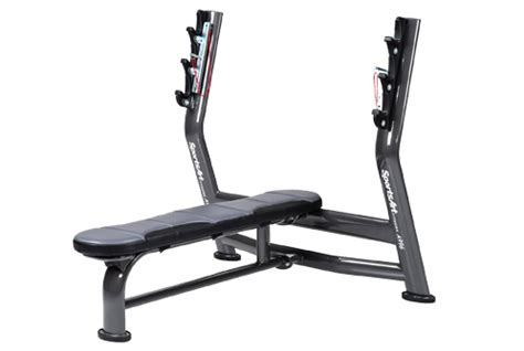 olympic flat bench press sportsart olympic flat bench a996