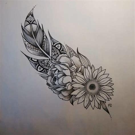 sunflower mandala tattoo best 25 tattoos ideas on