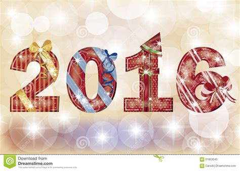 new year banner vector happy new year 2016 banner vector stock image image of