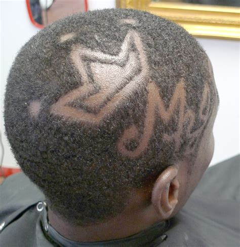 king crown design in hair cut recent hair cuts and designs barber chuck