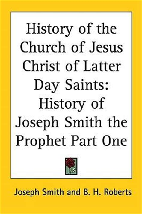Latter Day Saints Records History Of The Church Of Jesus Of Latter Day Saints Joseph Smith 9781417975716