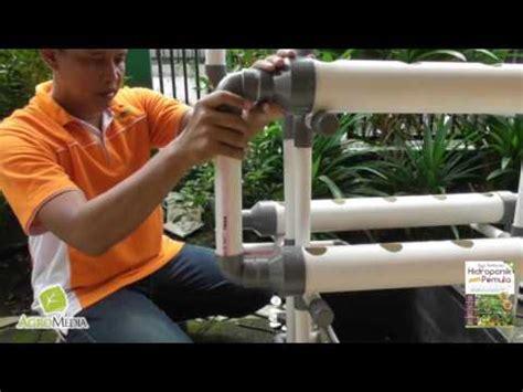 Pelubang Pipa Hidroponik cara bertanam hidroponik sederhana di rumah dengan sistem