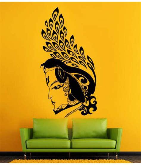 Buddha Wall Sticker hoopoe decor lord krishna wall sticker buy hoopoe decor