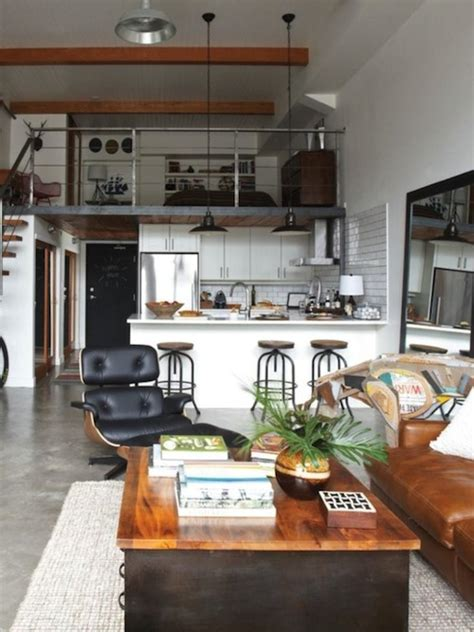 loft apartment design industrial loft small space studio apartment