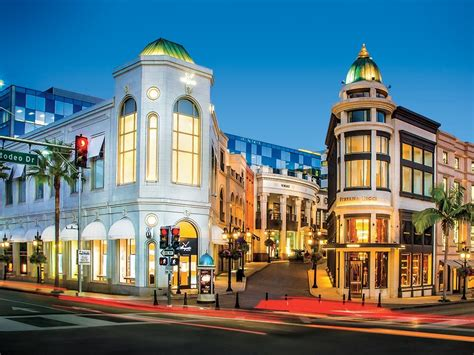shop and drive rodeo drive revival includes new storefronts and remodeled