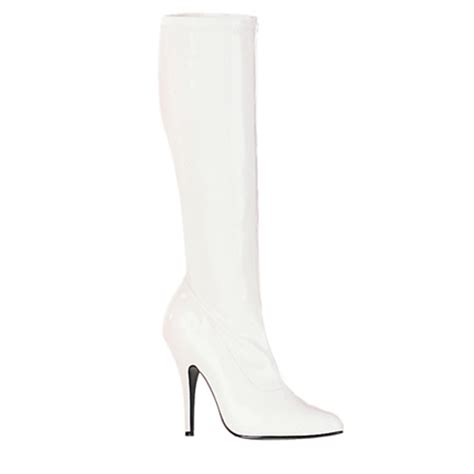 white knee high boots knee high boots