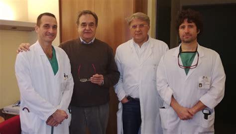 chirurgia vascolare pavia lecco in pensione il dr lorenzi primario di chirurgia