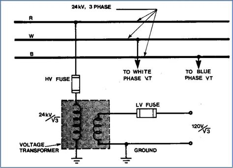 high voltage transformer wiring diagram three phase