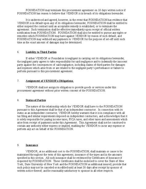 vendor agreement contract hashdoc