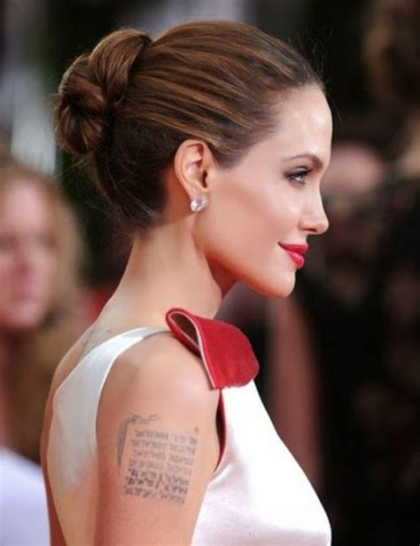 angelina jolie geographical tattoo angelina jolie s 15 tattoos their meanings body art guru