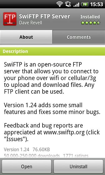 tutorial android ftp tutorial how to wirelessly transfer files to from your