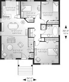1 Story Home Floor Plans Contemporary House Plans Single Story Contemporary House