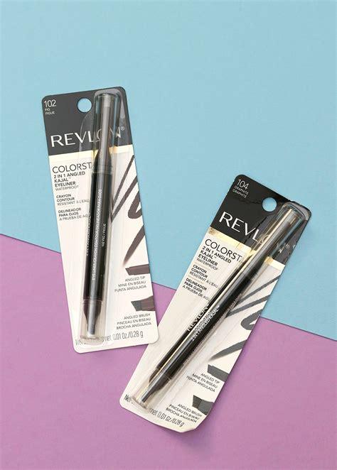 Revlon 7210 Eyeliner Liquid Pencil 2in1 1 drugstore gem alert revlon colorstay 2 in 1 angled kajal eyeliner makeup and
